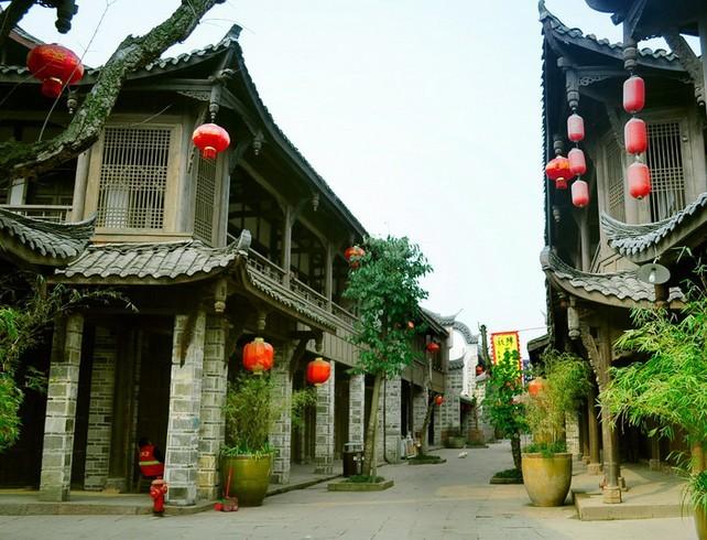 九寨沟,成都锦里五天四飞旅游团