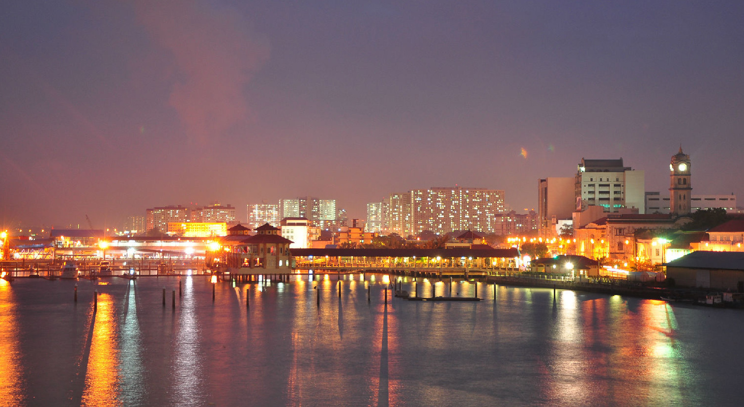 东沙群岛夜景图片大全